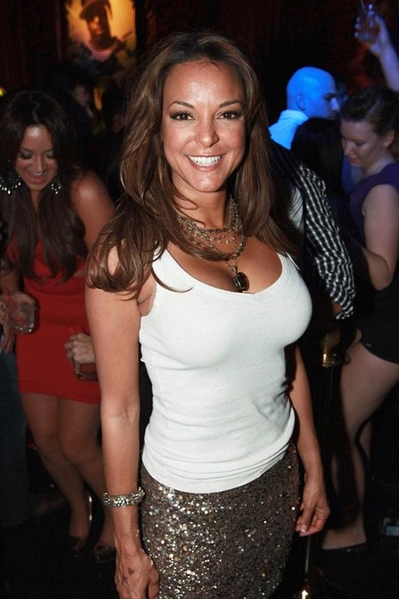 CSI: Miami star Eva LaRue celebrates Birthday at Surrender Nightclub