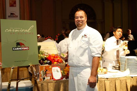 Executive Chef Zach Allen of B&B Ristorante and Enoteca San Marco at The Venetian and Carnevino at The Palazzo