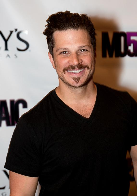 Mark Shunock, star of Rock of Ages