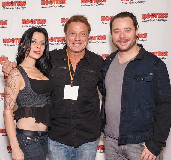 Marty Jannety (c) with AmberLynn and Ryan Stock