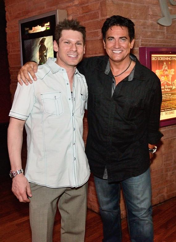 Mike Hammer with Impressionist and Golden Nugget headliner Gordie Brown