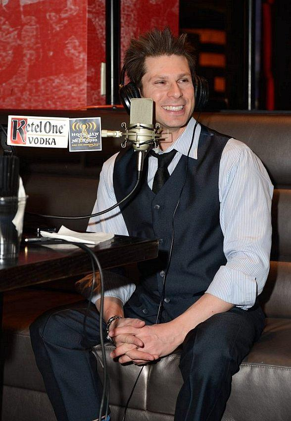 Magician Mike Hammer goes 'On Air with Robert & CC' at PBR Rock Bar at Planet Hollywood in Las Vegas