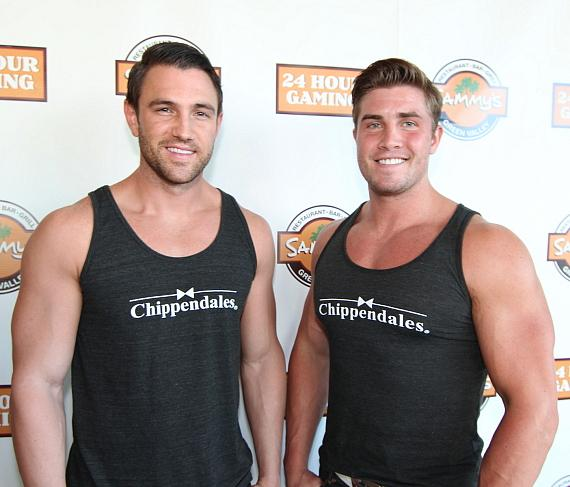 Mikey Cross and Gavin McHale from Chippendales