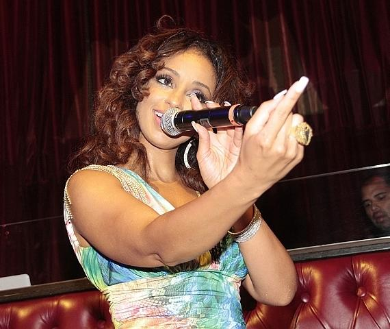 Mya gives special performance at LAX Nightclub