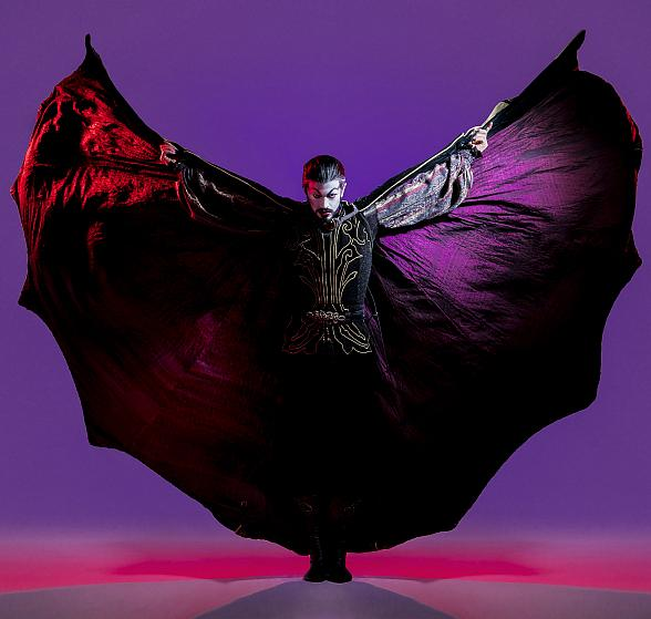 "Nevada Ballet Theatre Presents Ben Stevenson's Critically-Acclaimed and Full-Length Ballet ""Dracula"" at The Smith Center for the Performing Arts Oct. 25-28"