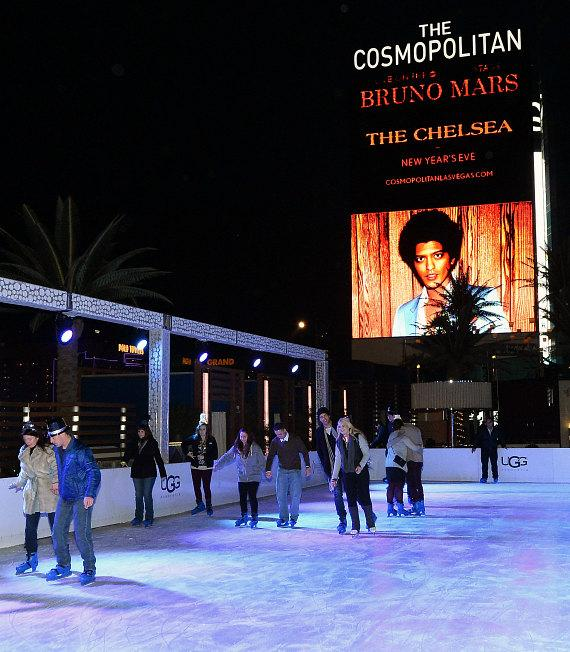 Bruno Mars Headlines NYE Celebration at The Cosmopolitan of Las Vegas