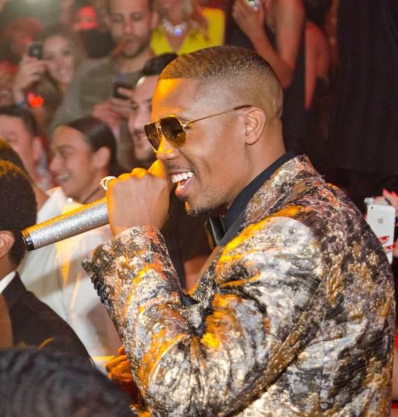 Nas celebrates 40th Birthday at TAO Nightclub