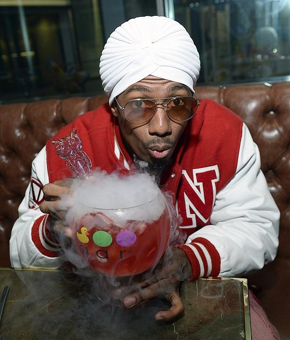 Nick Cannon Appears at Sugar Factory Fashion Show to Announce Theatre Box,a Collaboration of Sugar Factory, TCL Chinese Theatre and Wild 'N Out Sports Bar and Arcade