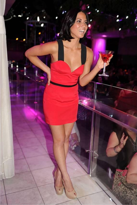 Olivia Munn at PURE Nightclub
