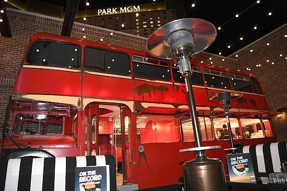 On The Record Patio Bus at Park MGM
