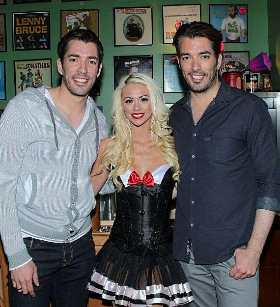 HGTV's The Property Brothers Guest Star in Murray: Celebrity Magician at Laugh Factory in Las Vegas