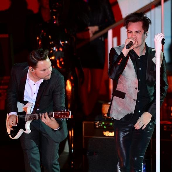 Panic! at the Disco Performs at Boulevard Pool at The Cosmopolitan of Las Vegas