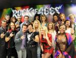 Pauly Shore with cast of Rock of Ages