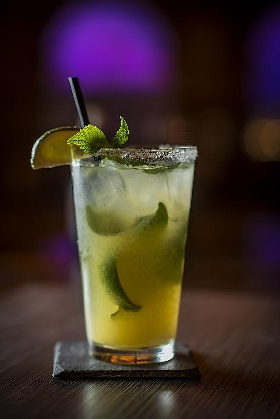 Pineapple Ginger Mojito at TREVI Italian Restaurant