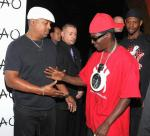 Chuck D and Flavor Flav at TAO Nightclub in Las Vegas