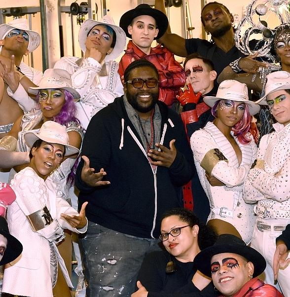"""Questlove and Rick Ross Attend """"Michael Jackson ONE"""" by Cirque du Soleil"""
