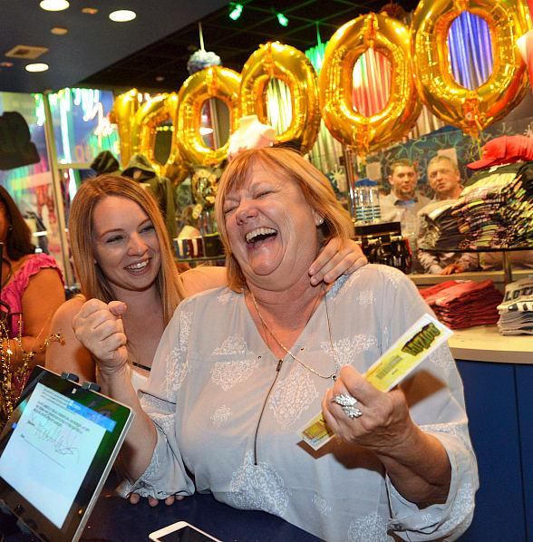 California Grandmother Soars into History as SlotZilla's Month of the Millionth Flyer Grand Prize Winner