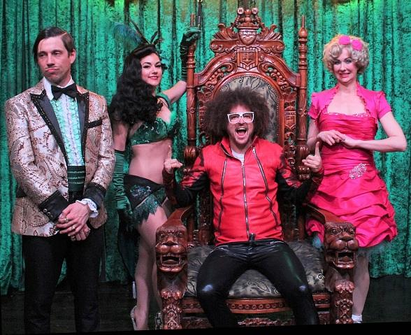 Redfoo Attends ABSINTHE at Caesars Palace in Las Vegas
