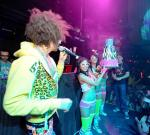 Redfoo with cake at Marquee
