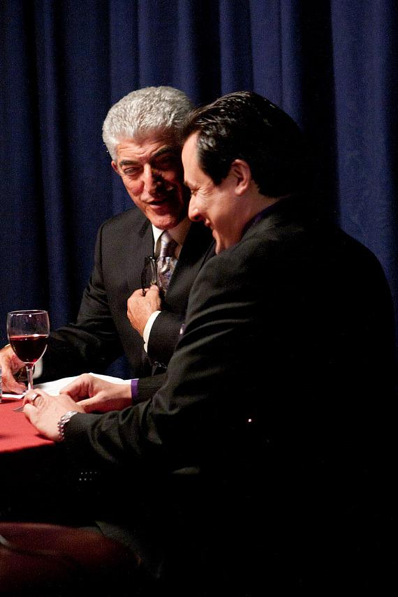 Frank Vincent with Producer Angelo Giordano