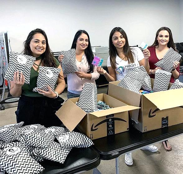 Project Marilyn Launches in Las Vegas to Provide Feminine Hygiene Product to Homeless Women & Children