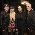 "Richie Sambora, Orianthi, Criss Angel and Dee Snider at Criss Angel ""HELP"""