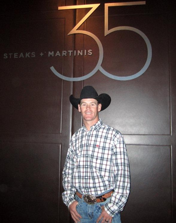 Ross Coleman at 35 Steaks + Martinis