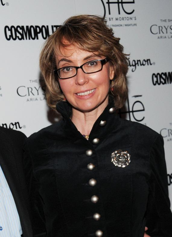 """Former Congresswoman Gabrielle """"Gabby"""" Giffords on red carpet at SHe"""