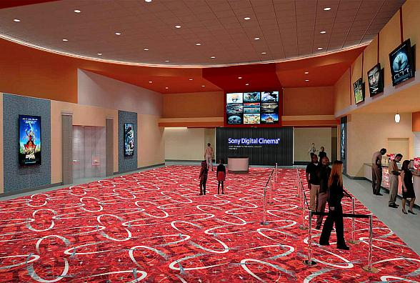 Galaxy Theatres Announces Third Las Vegas Location, Luxury+ Boulevard with Movie Screen 4 Stories Tall by 7 Stories Wide Opening April 5