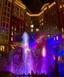 Mystic Falls Park Laser Light and Water Show at Sam's Town Las Vegas