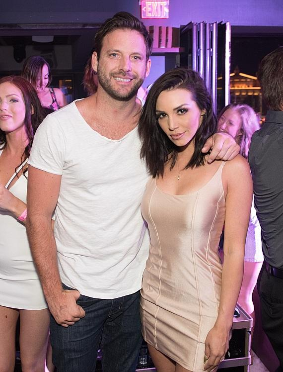 Scheana Marie and Robert Parks Valletta celebrate Memorial Day Weekend at Hyde Bellagio in Las Vegas