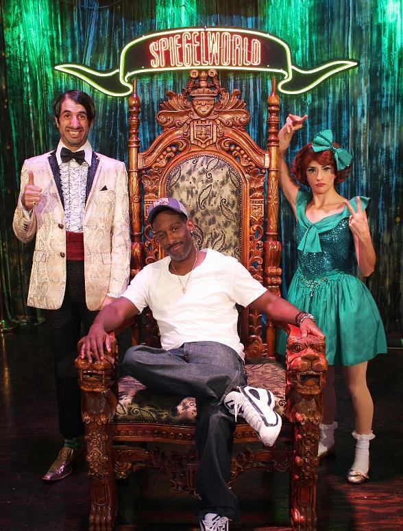 Boyz II Men's Shawn Stockman with The Gazillionaire and Penny Pibbets at ABSINTHE