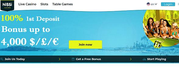 Online Casino Site Launches With 3000 Games at Nissi Online Casino