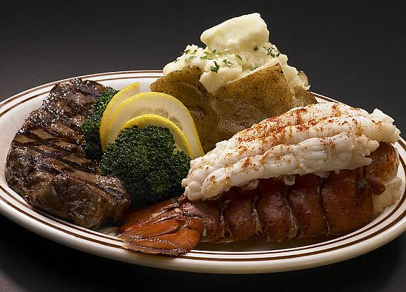$19.89 Steak & Lobster at Jerry's Famous Coffee Shop