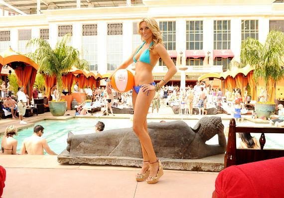 Stephanie Pratt at TAO Beach
