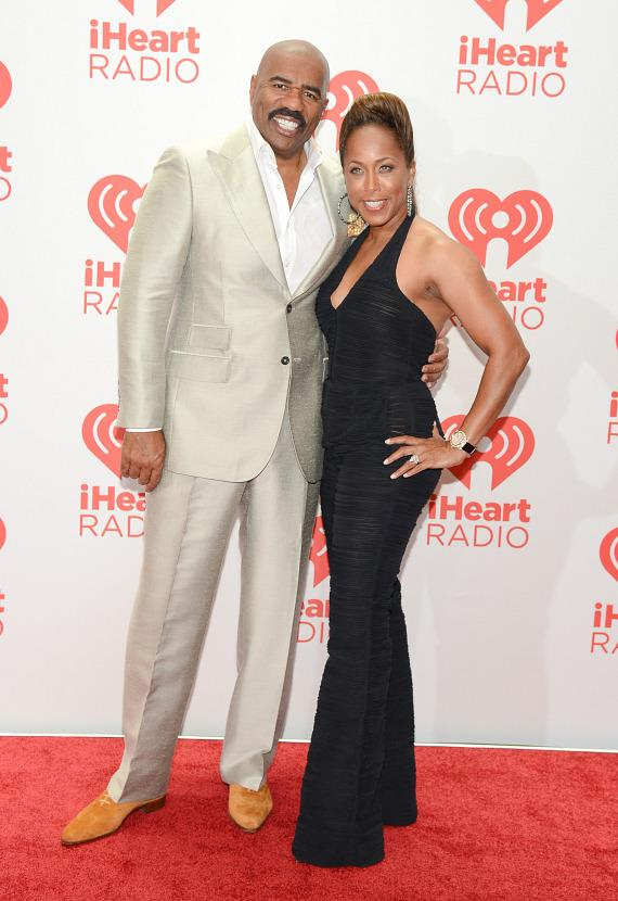 Steve Harvey and wife Marjorie Bridges-Woods
