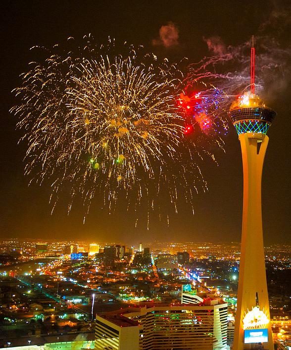 4th of July Fireworks and Viewing Parties Planned at the Stratosphere Casino, Hotel & Tower