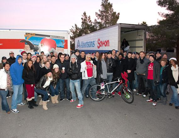 TAO Group at KLUC Toy Drive