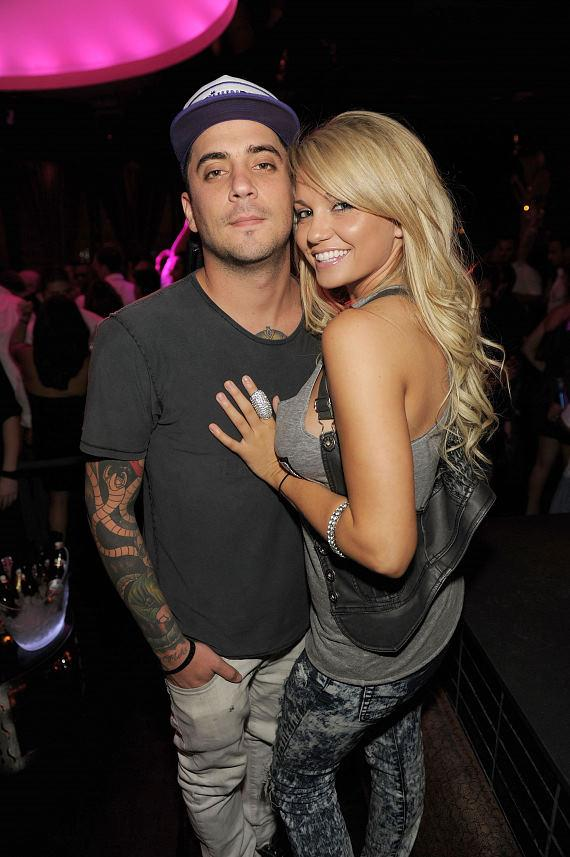 Tal Cooperman and Angel Porrino at LAVO