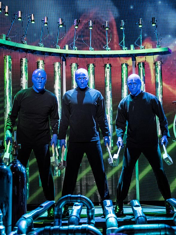 Blue Man Group: Celebrating 25 Years on November 17