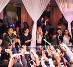 The Weeknd performs at PURE Nightclub