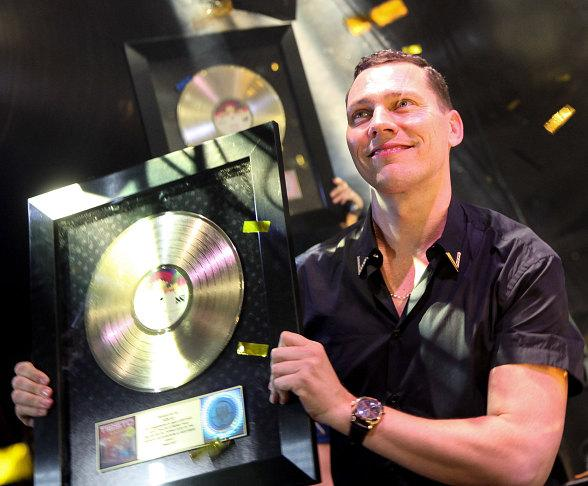 Hakkasan Las Vegas Nightclub Celebrates Tiesto's Gold Party