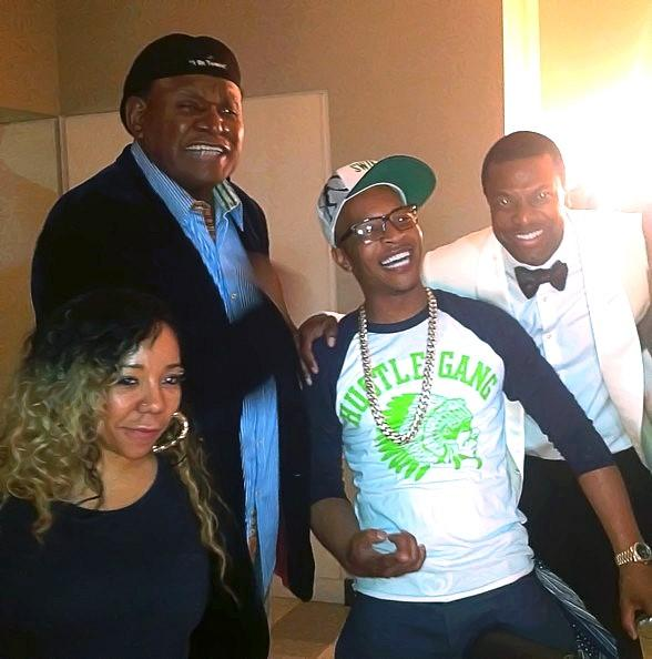 Tiny, T.I., George Wallace and Chris Tucker