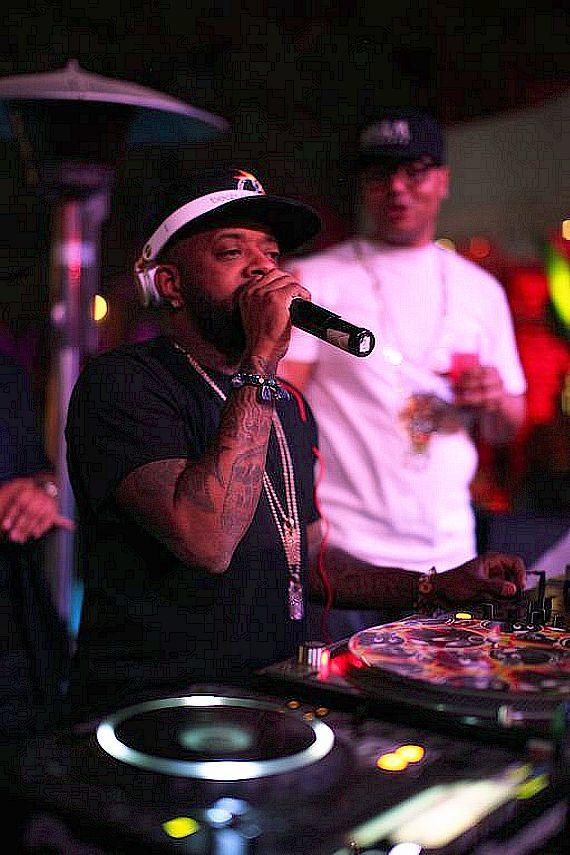 Jermaine Dupri performs at Tryst