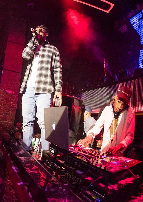 DJ Daddy Kat (Wiz Khalifa), Ty Dolla Sign & Chevy Woods at TAO Thursday