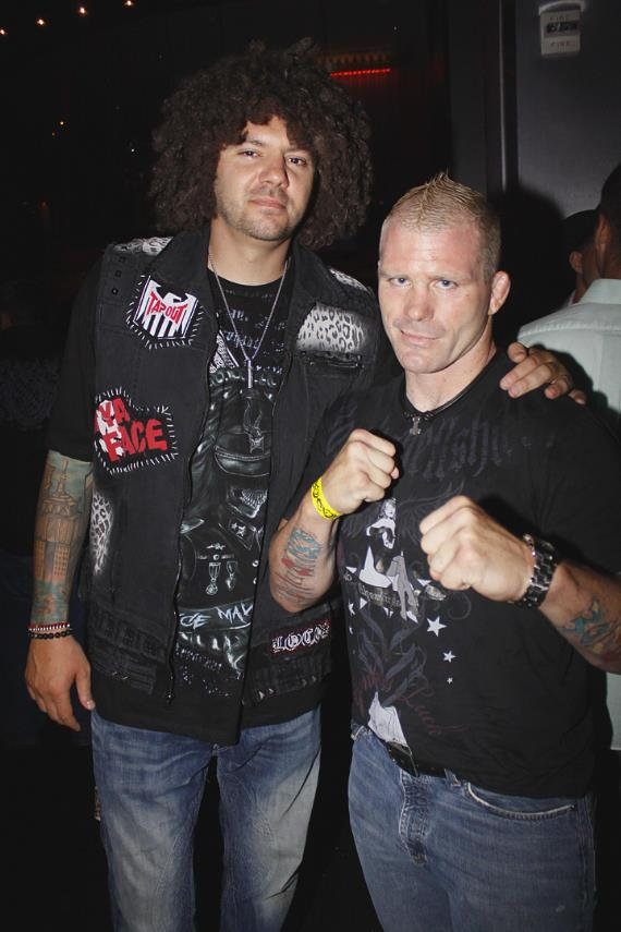TapouT Co-Founder Skyskrape with MMA Fighter Josh Haynes
