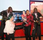 Wayans freaks out with Fright Dome monsters