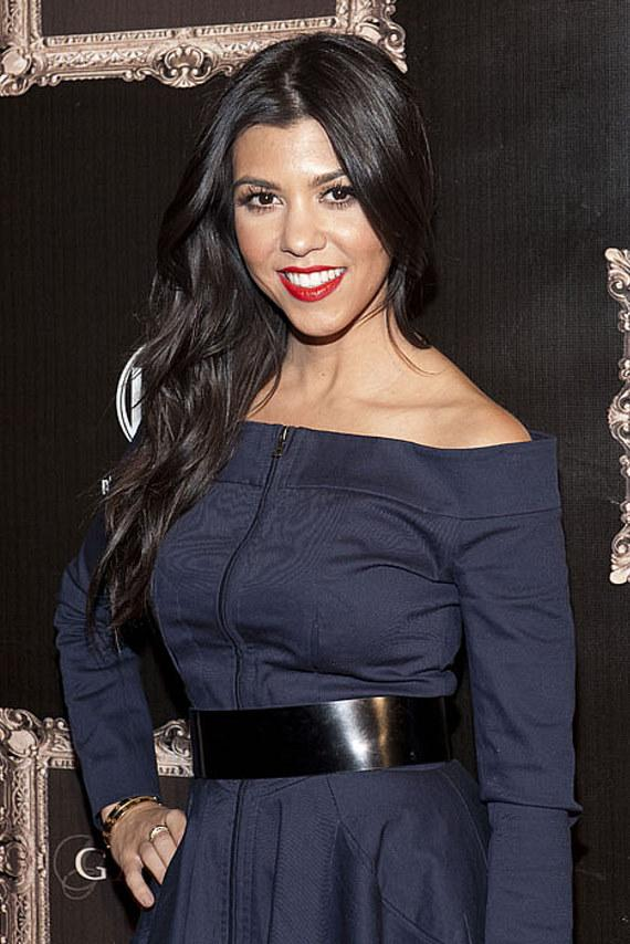 Kourtney Kardashian at Gallery Nightclub in Planet Hollywood