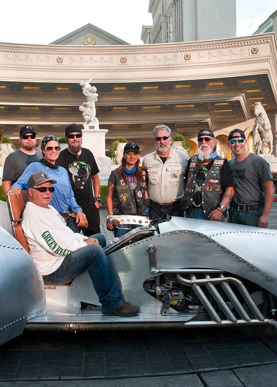 William Shatner & the members of The American Legion Riders