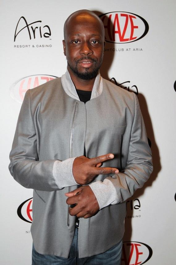 Wyclef Jean at HAZE Nightclub